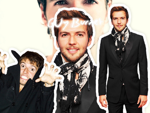 Guy Burnet Collage by ~SmileBadGood