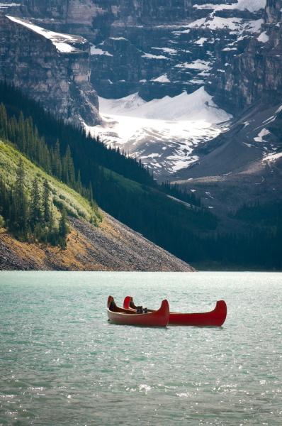 4nimalparty:  Lake Louise, Banff National Park, Alberta Canada (by (Ashley))