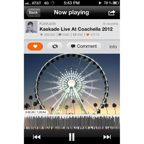#coachella2012 #Saturday night I fell in #love with #coachella and #music #kaskade @kaskade @eileen_bean84 @kat1x