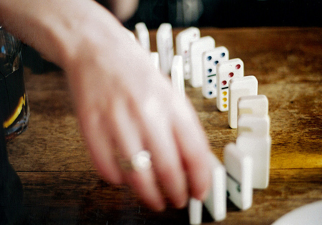 gravity's pawns. by Georgie Lord (M'Glug) on Flickr.