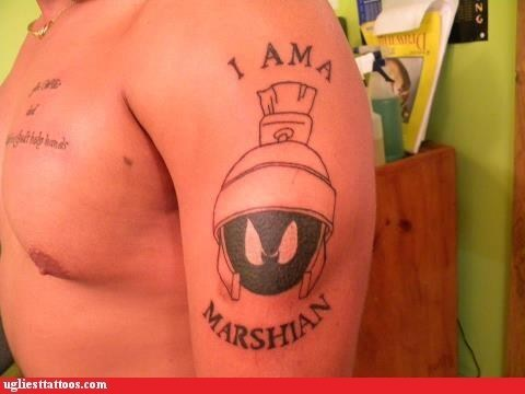 Bad Tattoo of the Week Yep, you may just be.