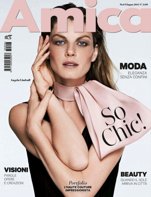 (via Amica Italy June 2013: Angela Lindvall By Driu & Thiago)