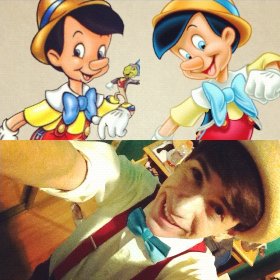 apeacedreamer:   Disneybounding as Pinocchio