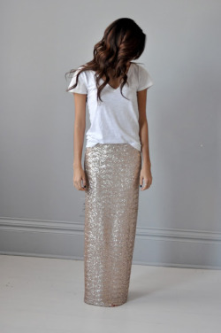 fashion skirt sequins