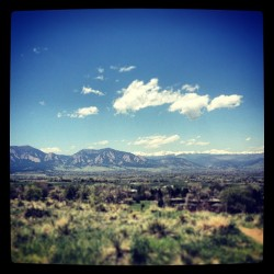 ryotisbrome:  Loving my lunch break today #boulder #happyfriday (at Davidson Mesa Boulder Overlook)