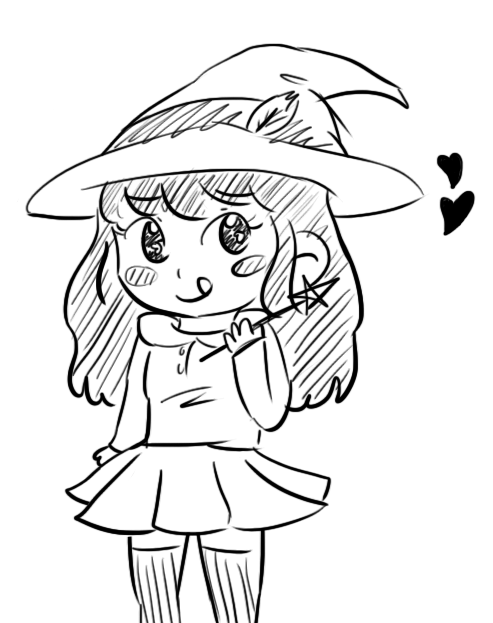 its probably a little off but i drew fanart of my lineplay avatar oh my god