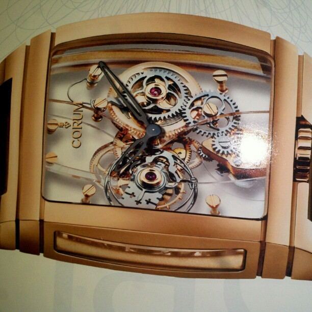 One of the illest time pieces that Corum ever put out #watchfreak yours for a cool 200K.
