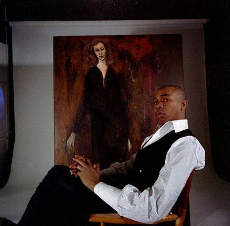 "There are versatile artists, and then there is Geoffrey Holder. Born in Port-of-Spain, Trinidad in 1930, Mr. Holder danced with his brother Boscoe's dance troupe as a child. He arrived in New York in 1952 at the invitation of the legendary choreographer, Agnes de Mille and, to pay his fare, he sold 20 of his paintings. He would go on to win a Guggenheim Fellowship for painting in 1957. A few years before, he was a principal dancer at the Metropolitan Opera Ballet and appeared on Broadway in Truman Capote's ""House of Flowers,"" where he would meet his wife of 57 years, the dancer Carmen de Lavallade.In 1975, Mr. Holder won 2 Tony Awards in the same evening for directing and choreographing the Broadway musical, ""The Wiz."" He is best known to most for his film and commercial roles: as Baron Samedi in the 1973 James Bond film, ""Live and Let Die"" and of course, as the ""Un-cola Man"" in the ubiquitous 1970s 7-Up commercials. Mr. Holder is still painting and creating art today and, the DuSable Museum of African American History in Chicago currently has an exhibition featuring Mr. Holder and Ms. de Lavallade. In this picture, Mr. Holder is sitting in front of one of his painting, sometime in the 1960s. Photo: Bradley Smith/Corbis."