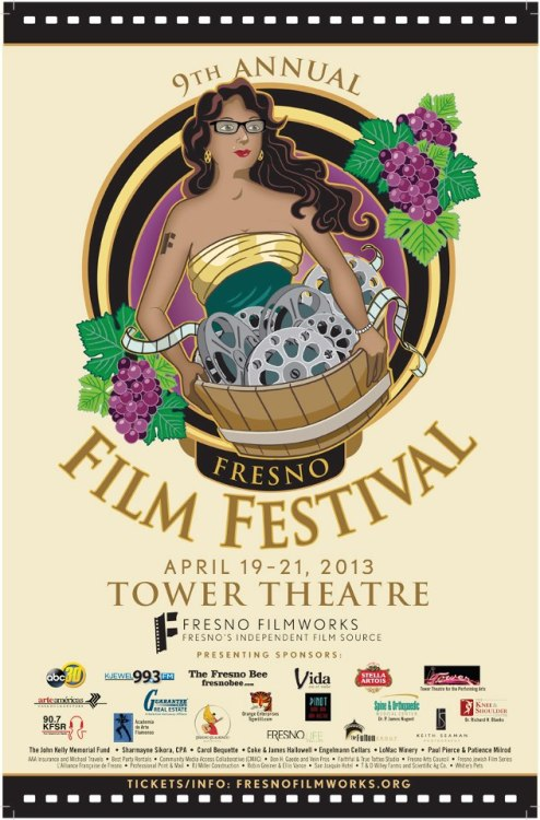 The ninth annual Fresno Film Festival, presented by Fresno Filmworks at the historic Tower Theatre, will feature seven exclusive programs of short and feature-length movies, including special filmmaker appearances, social gatherings, and Q&A discussions. Visit Fresno Filmworks' Web for this weekend's schedule.  This is like no other event in Fresno. Jefferson Beavers, board member, introduced me to the organization. Thanks to him, my friend and I attended the viewing of Oscar-nominated shorts, back in March. It was an amazing event! And it was my first time at the Tower Theatre. It was an amazing opportunity!  Fresno Filmworks does a great introducing independent films to Fresno. This is something organizers felt was lacking in our culture.