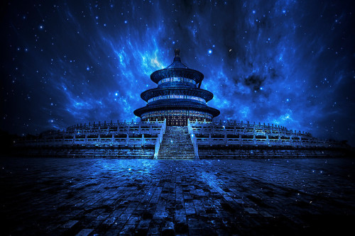"Christian Ortiz.  ""Temple of Heaven,"" Beijing, China."