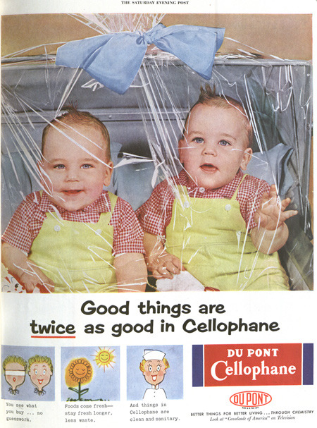 Cellophane ad (1960s)