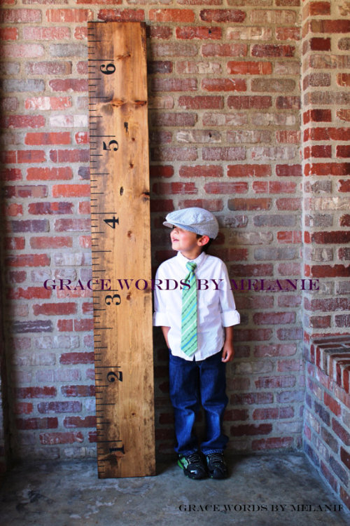 cool idea… (via http://www.etsy.com/listing/99796351/vintage-oversized-growth-chart-ruler)