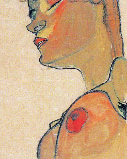 pubertad:  Egon Schiele, Totes Mädchen (detail), 1910  when it comes to art, Schiele will always be one of my biggest inspiration. Especially when it comes to nude. He doesn't only sketch bodies, he gives them feelings, emotions, he depicts what lies inside…