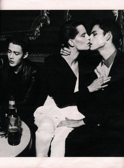 kuntnuggets:  Tom Nicon, Iris Strubegger and Robbie Wadge by Mert & Marcus W Magazine March 2010