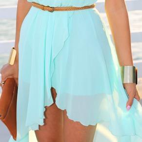 #who #else #love #this #blue #dress #with #belt #summer #hurry #up #follow #me #please