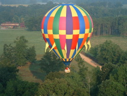 finger-onthetrigger:  Ride in a hot air balloon