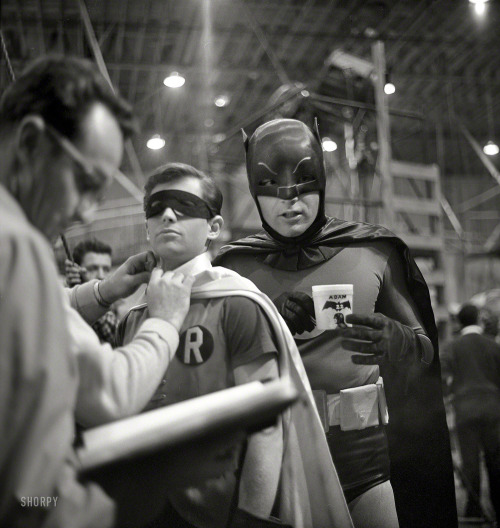 batman vintage on_set