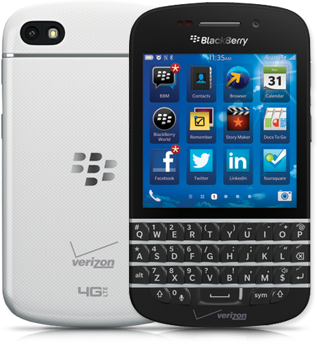 Blackberry Q10 Coming Next Month     Similar to the BlackBerry® Z10 smartphone, the upcoming BlackBerry Q10 runs on the BlackBerry® 10 platform and includes a suite of features including smart keyboard software that understands and adapts to a user's typing style. The BlackBerry Hub helps organize multiple inboxes so users can view all their messages in one place instead of having to jump around from app to app. Q10 users will have access to BlackBerry World to download apps, games and entertainment over 4G LTE connectivity. BlackBerry Messenger (BBM) fans can also use 4G LTE to video chat with friends. BBM on the new platform includes a screen sharing feature so friends can share picture slideshows and co-workers can review documents together.The Global Ready BlackBerry Q10 will be available for pre-order in the coming weeks and will be available for purchase online and in Verizon Wireless stores in June. Users will be able to choose from Black or White color models, with the White model being a Verizon Wireless exclusive. Customers can sign up for additional information here.   Verizon Wireless, Blackberry, 4G LTE, Blackberry Q10