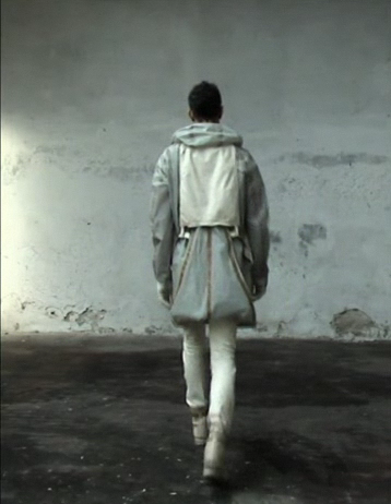 "naxed:  Carol Christian Poell ""Off Scene"" ss08"