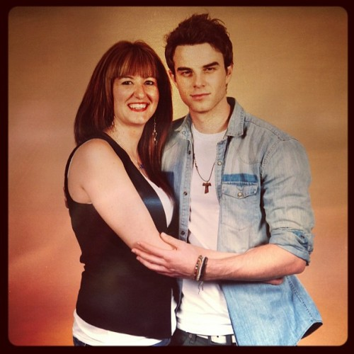 With The sweet @natebuzz at #bloodynightcon 2013. #NateBuzz