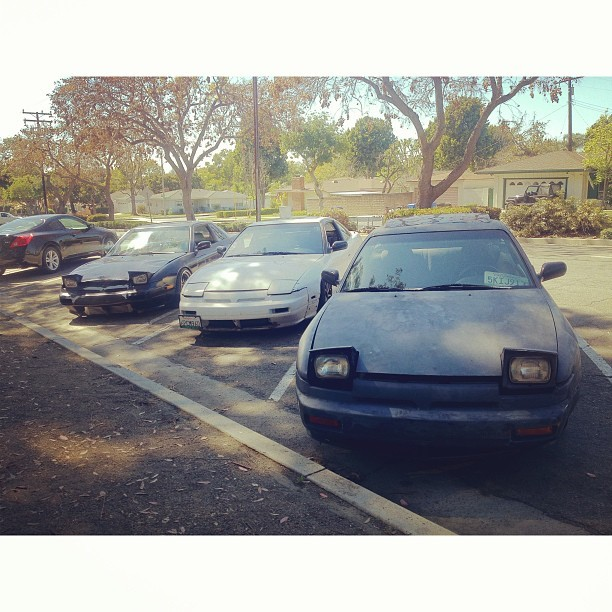 KA(de)-T, Sr20 and my KA. #s13 #240sx