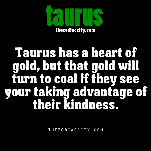 zodiaccity:  Zodiac Taurus facts.
