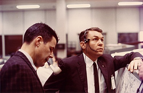 Remembering the original Gemini 9 crew today: Charlie Bassett and Elliot See.