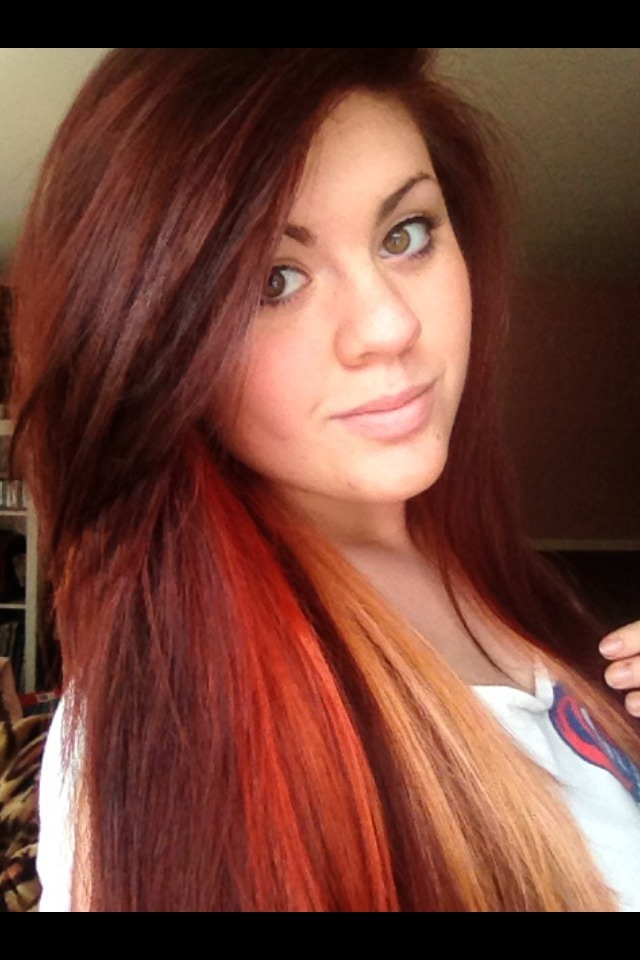 #redhead #red #hair #me #girl #haircolor #hairstyles #hailsatan ~