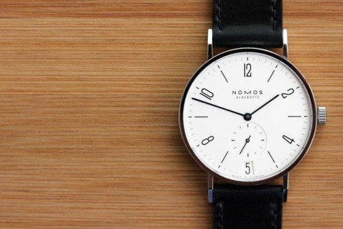 airows:  Nomos Tangente Datum Watch « Airows