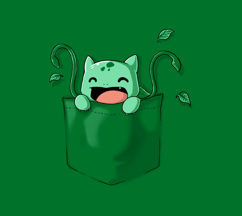 gamefreaksnz:   Pocket Monster 3 by ramyb US $11 for 24 hours only Artist: deviantART | Twitter | Facebook | Tumblr