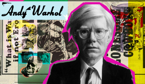 Andy Warhol Icono del Pop Art.- http://ow.ly/kYEq6 #popart