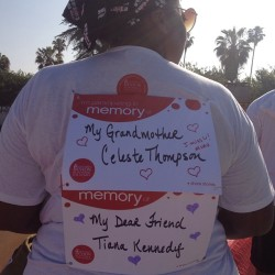 Ready to walk!!! Love and miss you Grandma and Tiana!!! #weneedacure #love #revlonrunwalk