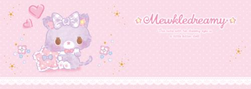 ミュークルドリーミー mewkledreamy sanrio new debut pastel grunge 2017 kitty