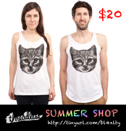 YOU NEED MORE POWER THIS SUMMER!!!!!!Wear this TANK TOPSAvailable at Threadlesshttp://www.threadless.com/product/3612/Everybody_Wants_to_be_a_Cat/tab,guys/style,tank
