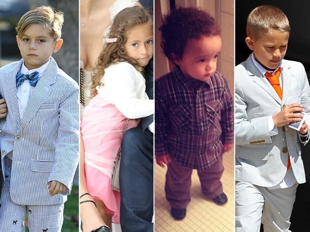 Forget adult fashion, celebrity kids were killing it in 2012.