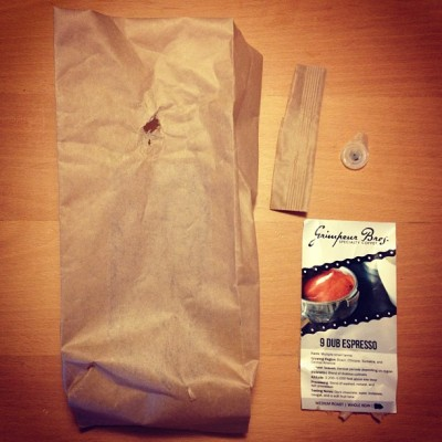GrimpeurBros.com's nü 2 lb. #coffee bags are compostable & eco-friendly! We use state-of-the-art Biotré packaging that biodegrades into garden friendly compost in a matter of months. And we've found that our 12 oz. Biotré bags keep coffee fresher longer than other bags available. Plus you get more bang for your buck buying 2lb bags of #Grimpeur #coffeedoping. Win Win WIN! Check them out @ GrimpeurBros.com. #specialtycoffee #coffeegeek #cycling #eco #ecofriendly #rideyourbike #drinkgreatcoffee