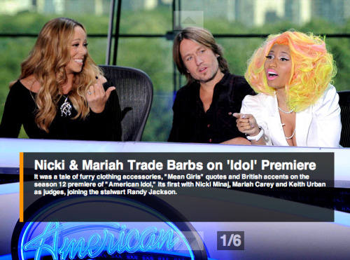 "What did you think of last night's ""American Idol"" premiere? Turns out the ratings were down 19 percent from last year… Yikes. Read all about the Nicki vs. Mariah drama, then check out our full recap."