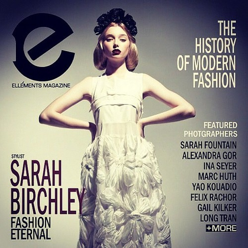 My pic on the cover of Ellements magazine!!! Woohoo! @sarahmbirchley @lydiachanelhunt @viviannetran ❤