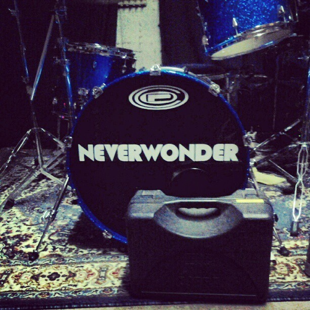Rehearsing with NEVERWONDER for our show this Friday at the Viper Room #neverwonder #LexD #ViperRoom #rock #hiphop #drum #drumset #practice #rehearsal