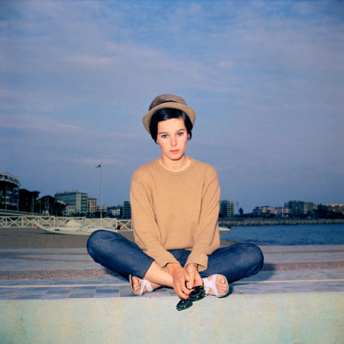 allaroundhteworld:  1967: Geraldine Chaplin is pictured in Cannes