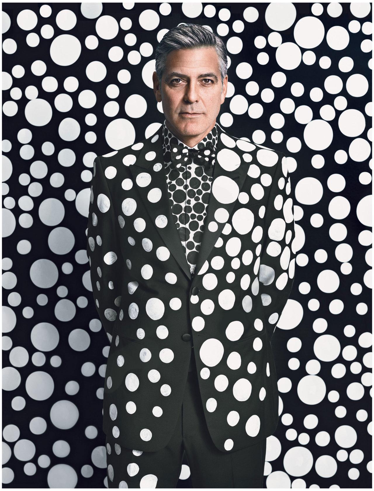 Happy Birthday George! Photograph by Emma Summerton; styled by Edward Enninful; W magazine December 2013.