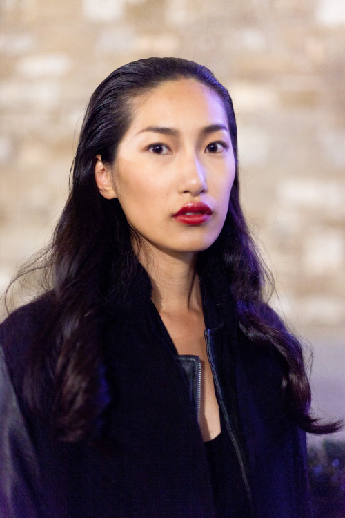 "Gigi Jeon @NextModels London in Florence after Ermanno Scervino FW Mens/Pre-Fall Womens (?) Pitti Uomo 2013, January 2013 Gigi walked Louis Vuitton SS13 and appeared in Muse Magazine Winter 2012 ""Culture Club"" editorial shot by Philip Meech.  Click here to see her Next London portfolio."