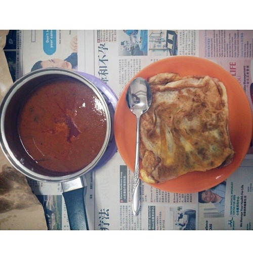 Ystd brunch, prata cravings by dad.