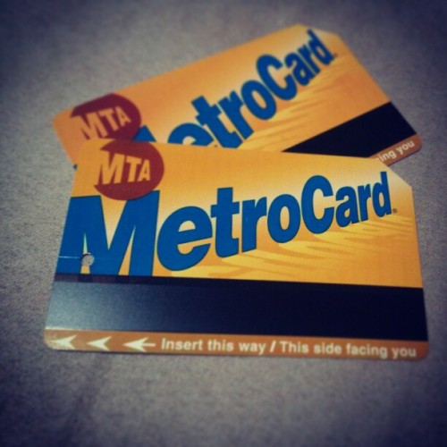 I am a hoarder. But oh the #memories. #nyc #mta #newyork