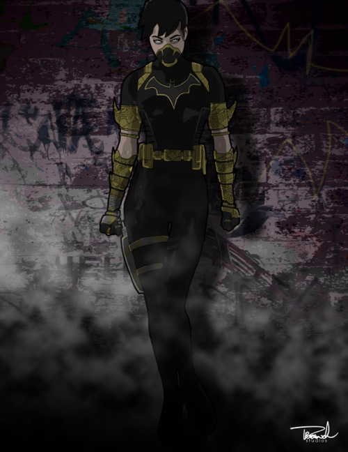 Cassandra Cain aka Batgirl aka Black Bat by ~tsbranch