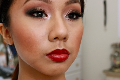 Cheryl Cole Red Carpet Inspired Makeup