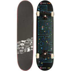 "mdmvomgmbb1598:  Trap Skateboards Team Design Retro 7.625"" Complete-Board   ❤ liked on Polyvore"