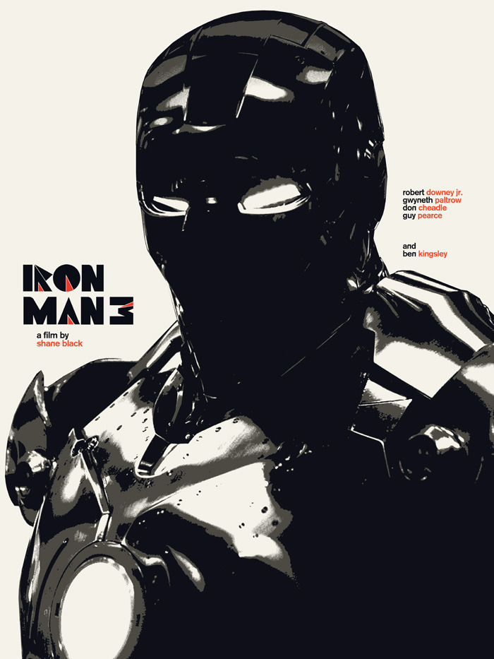 midmarauder:  Iron Man 3 (2013) Poster for the ShortList