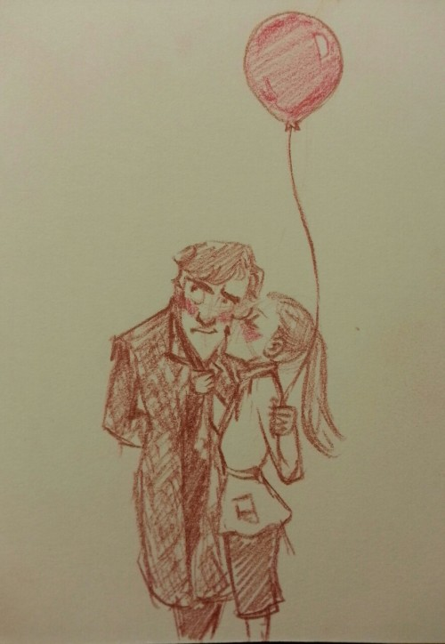 Nonny!Request for Sherlock buying Molly a balloon like it was not a big deal. Of course it's a big deal, who buys balloons, you sentimental clot?