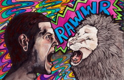 RAWWRRR Watercolor and India Ink